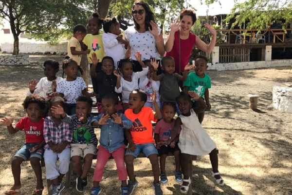 vidaedu voluntariado internacional criancas cabo verde tarrafal