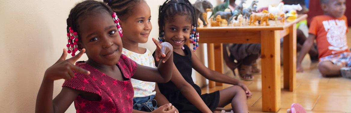 Projeto Social com Crianças em Cabo Verde