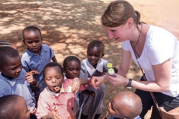 vidaedu international volunteer kindergarten kenya